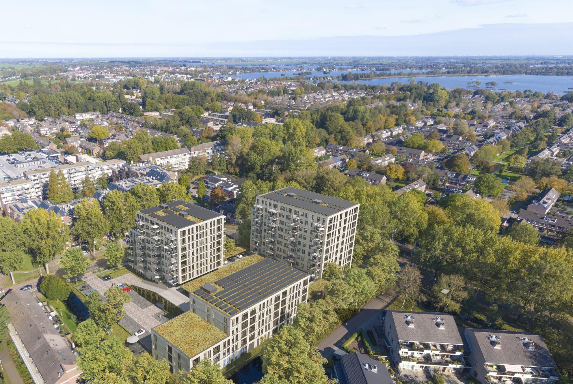Uitzicht Reeuwijkse plassen